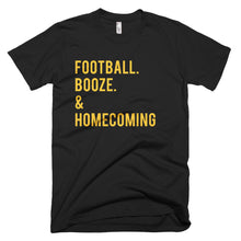 Mizzou Football. Booze. & Homecoming T-Shirt