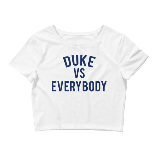 Duke vs Everybody Crop Tee