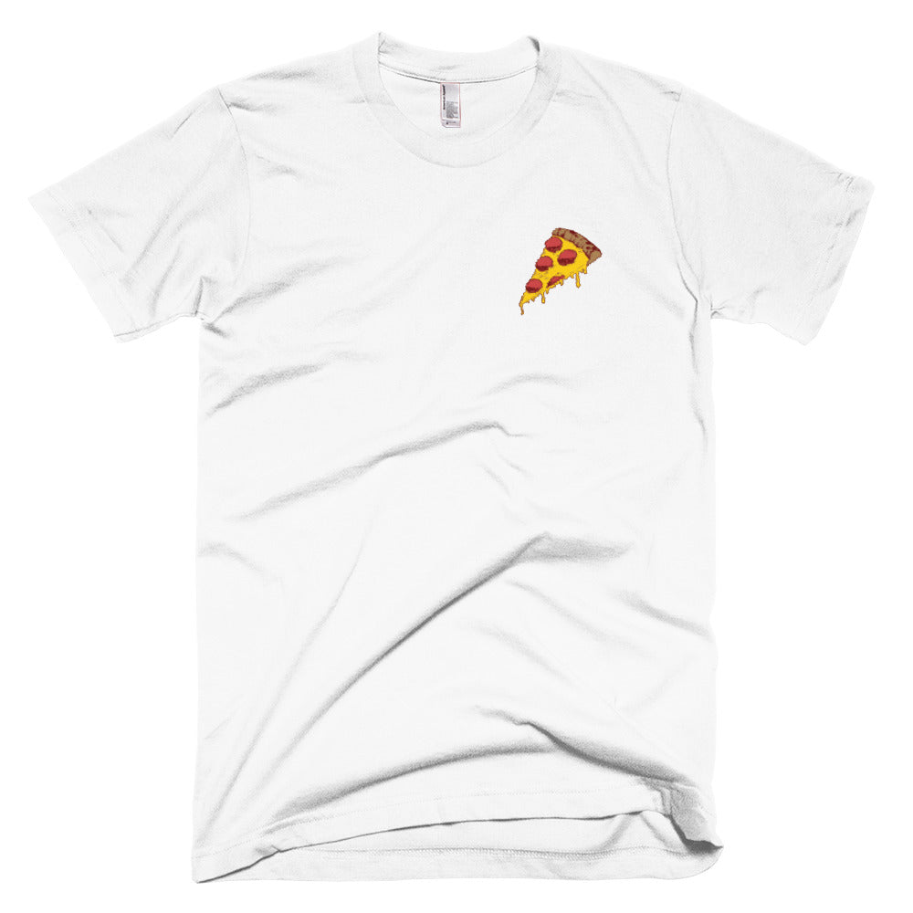 Original Pizza Embroidered T-Shirt