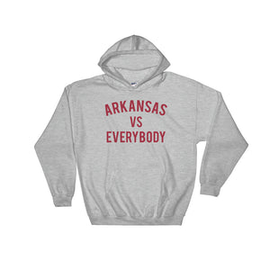 Arkansas vs Everybody Hoodie