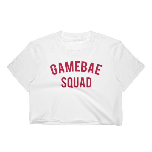 Gamebae Squad Crop Top