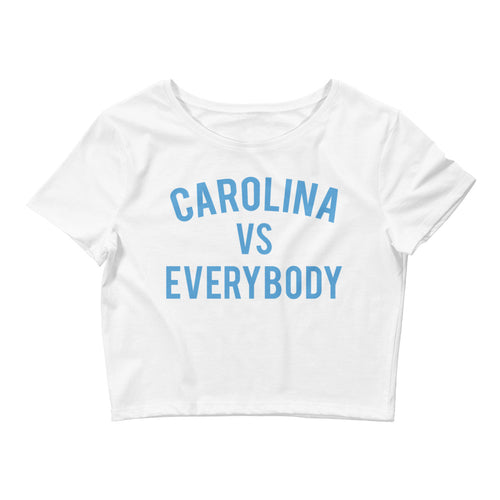 Carolina vs Everybody Crop Tee