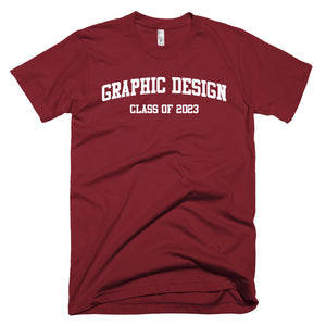 Graphic Design Major Class of 2023 T-Shirt