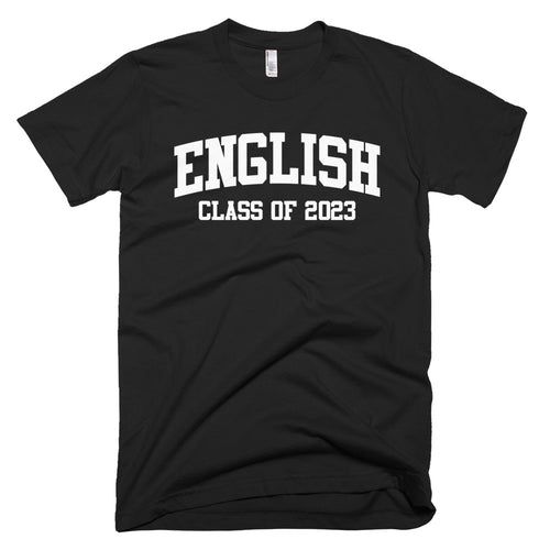 English Major Class of 2023 T-Shirt