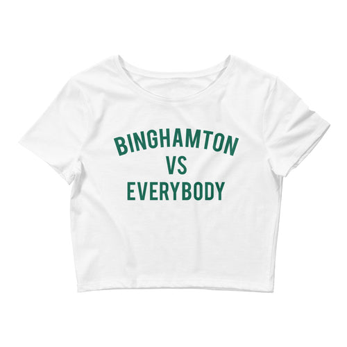 Binghamton vs Everybody Crop Tee