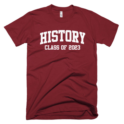 History Major Class of 2023 T-Shirt