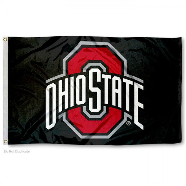 Ohio State University Buckeyes Flag