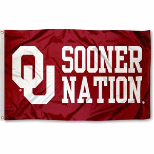 University of Oklahoma Sooners Flag