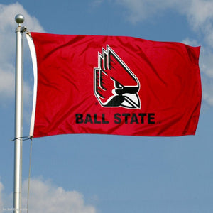Ball State Cardinals Flag