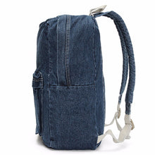 Classic Denim Backpack