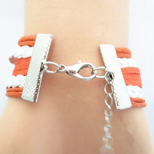 Texas Longhorns Bracelet