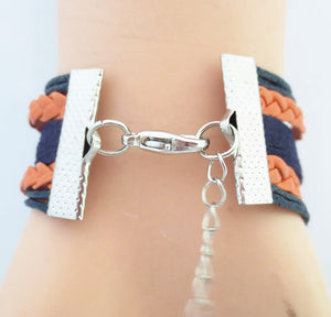 Auburn University Tigers Bracelet
