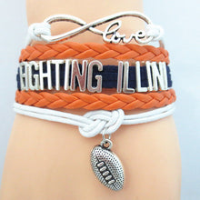 Fighting Illini Bracelet