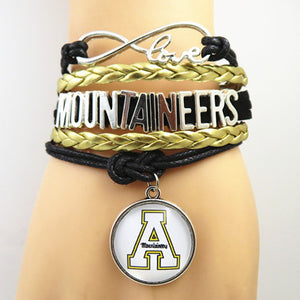 App State Mountaineers Bracelet