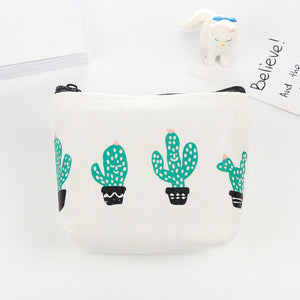Cactus Large Pencil Bag