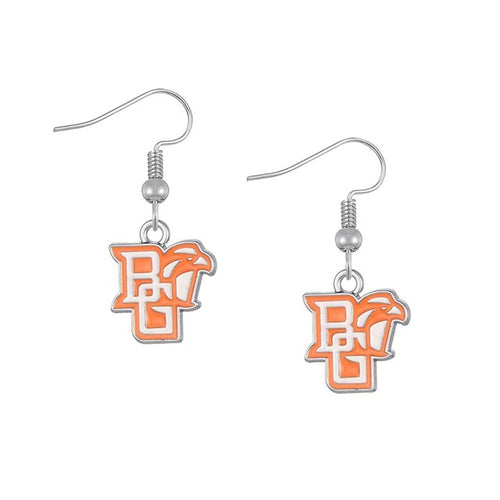Bowling Green BGSU Falcons Earrings