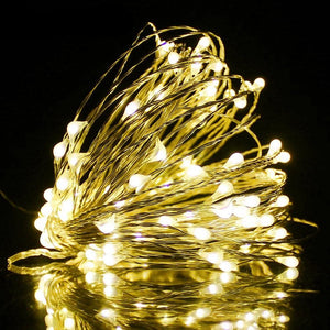 Dorm Room Wire LED String lights Decoration