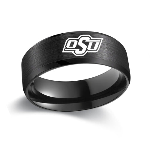 Oklahoma State University Titanium Ring