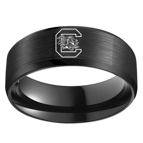University of South Carolina Gamecocks Titanium Ring