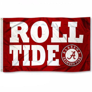 University of Alabama Roll Tide flag