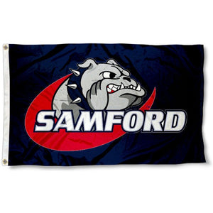 Samford University Bulldogs Flag