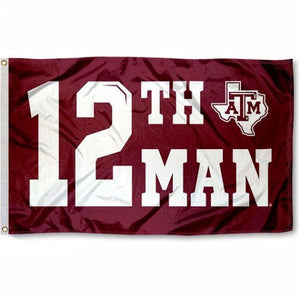 Texas A&M 12th Man Flag