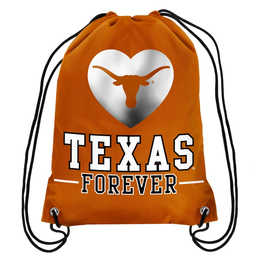 Texas Longhorns Forever Drawstring Backpack