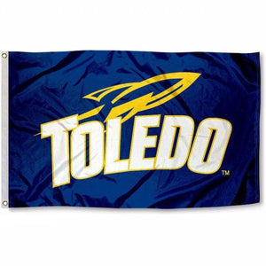 University of Toledo Rockets UT University Flag