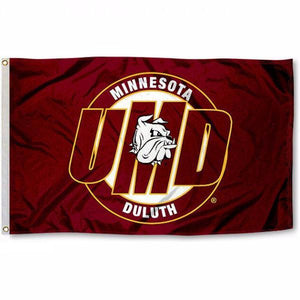 University of Minnesota Duluth Bulldogs Flag
