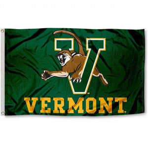 Vermont Catamounts Flag