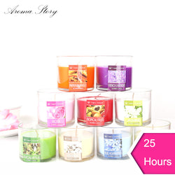 125G Environment-Friendly Scented Candle Natural Fragrance Lead-Free Wick Smokeless Aromatherapy Candle