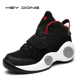 Men Breathable Leather Sneakers