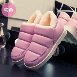 Wdzkn | Waterproof Women Snow Boots Slip On Flat Heel