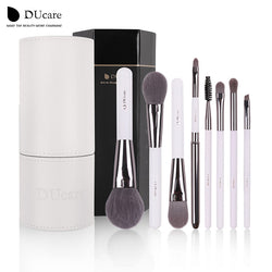 Ducare Makeup Brushes Professional 8Pcs Foundation Eyeshadow Makeup Brush Sets Make Up Kwasten