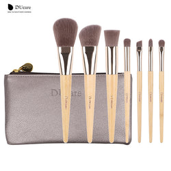 Ducare Make Up Brushes Set 7Pcs Bamboo Foundation Eyeshadow Concealer Eyeliner Brushes Cosmetic Kwasten Make Up