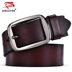 Dinisiton | Swordfish 100% Cowhide Genuine Leather Belt