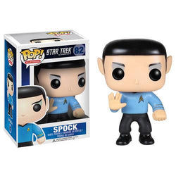 Funko Pop Star Trek: Spock Pvc Action Figure 10Cm 3 3/4'' Television Character Doll Great As A Gift