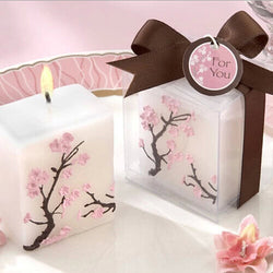 20Pcs Wedding Favors Party Valentine'S Gifts Bridal Shower Plum Blossom Candle