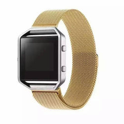 Dalan Newest Stainless Steel Link Bracelet Strap Milanese Loop For Fitbit Blaze Tracker Smart Fitness Watch Band