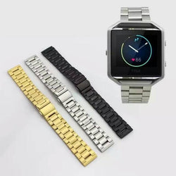 Dalan High Quality Link Bracelet Band For Fitbit Blaze Smart Fitness Watch Strap Stailess Steel