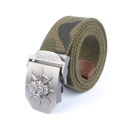 Brand New Usa Canvas Men'S Waist Strap Alloy Army Buckle Military Tactical Belts For Men High Quality Belt For Jeans