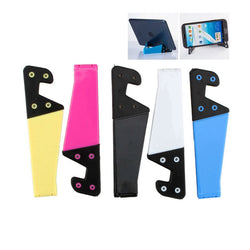 Universal Foldable Mobile Cell Phone Stand Holder For Smartphone & Tablet Pc Multicolor Colorful V Shaped