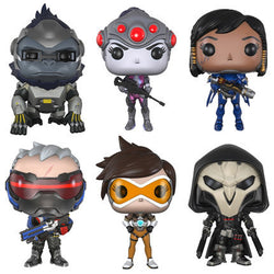 Funko Pop Pvc Over Watch Widowmaker/Reaper/Winston/Soldier:76 Action Figure Ow Kids Toys Christmas Gift