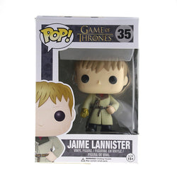 New Hot Funko Pop Game Of Thrones Garage Kits Kingslayer Jaime Lannister Collection Mini Cute Kids Toys Model Original Box