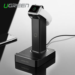 Ugreen 2 In 1 Magnetic Stand Charging Station With 2 Usb Charger Dock For Apple Watch Iphone 6 6S 5C For Samsung S6 For Ipad Air