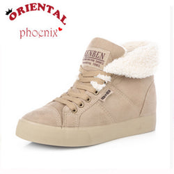 Sale Hot-Selling Spring Autumn Winter Velutinous Thermal Liner Snow Boots High-Top High Increased Winter Boots Shoes Woman