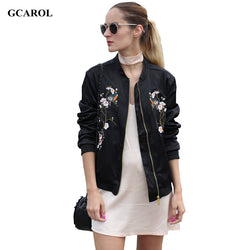 Gcarol | Women New Plum Blossom Floral Embroidered Jacket