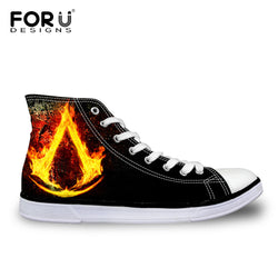 Forudesigns | Men Casual Classic High Top Canvas Sneakers