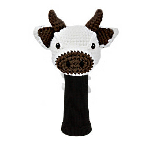 Cow Golf Driver Head Cover