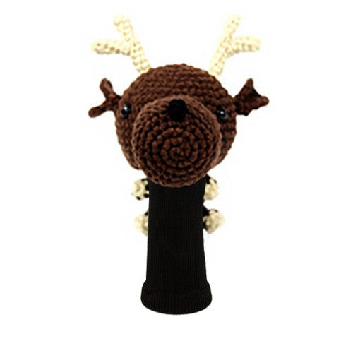 Reindeer Golf Driver Head Cover